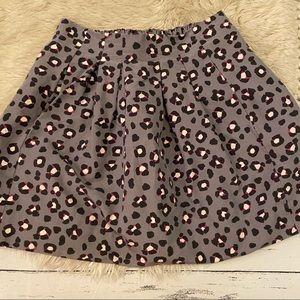 Kate Spade leopard skirt